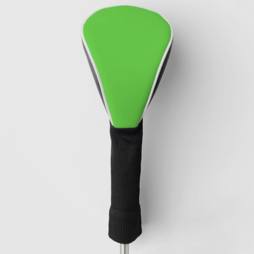 Lime Green Solid Color Customize It Golf Head Cover