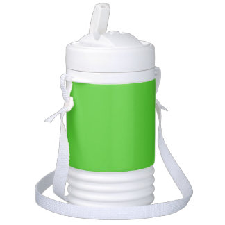 Lime Green Solid Color Igloo Beverage Cooler