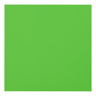 Lime Green Solid Color Panel Wall Art