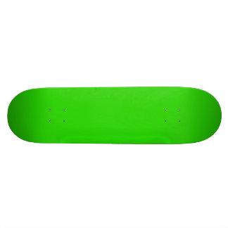 LIME GREEN (solid fruity color) ~ Skateboard Deck