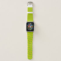 Lime Green Standard Ribbon by Kenneth Yoncich Apple Watch Band