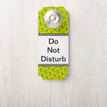 Lime Green Standard Ribbon by Kenneth Yoncich Door Hanger