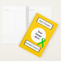 Lime Green Standard Ribbon by Kenneth Yoncich Planner