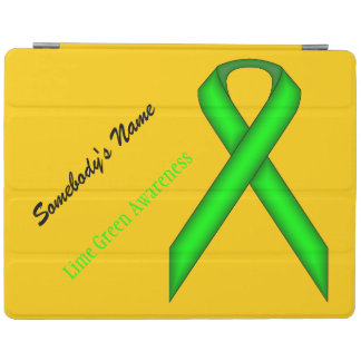 Lime Green Standard Ribbon iPad Cover