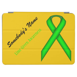 Lime Green Standard Ribbon iPad Air Cover