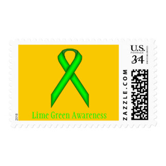 Lime Green Standard Ribbon Postage