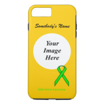 Lime Green Standard Ribbon Tmpl by Kenneth Yoncich iPhone 8 Plus/7 Plus Case