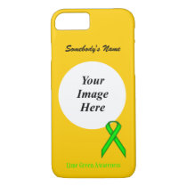 Lime Green Standard Ribbon Tmpl by Kenneth Yoncich iPhone 8/7 Case