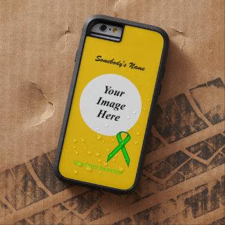 Lime Green Standard Ribbon Tmpl by Kenneth Yoncich Tough Xtreme iPhone 6 Case
