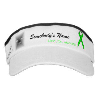 Lime Green Standard Ribbon Tmpl by Kenneth Yoncich Visor