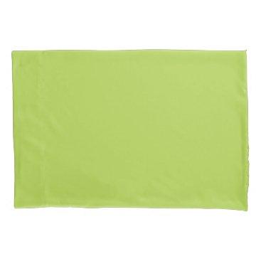 USA Themed Lime Green Standard Sized Single Pillowcase
