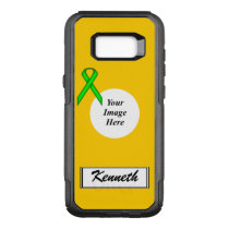 Lime Green Stnd Ribbon Template by Kenneth Yoncich OtterBox Commuter Samsung Galaxy S8  Case