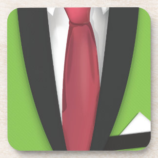 Lime Green Suit Coaster