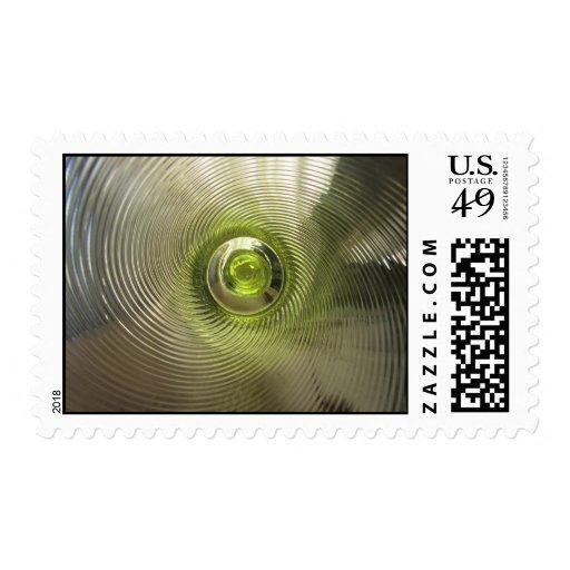 Lime Green Swirl Stamp