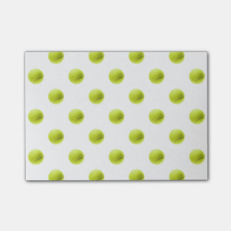Lime Green Tennis Balls Background Ball Post-it® Notes