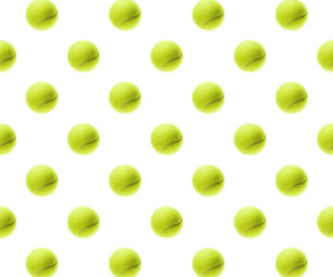 Tennis Ball Pattern Wrapping Paper Zazzle