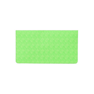Lime Green Texture Checkbook Cover