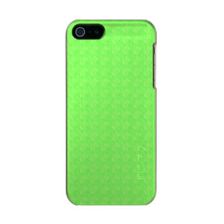Lime Green Texture Incipio Feather® Shine iPhone 5 Case