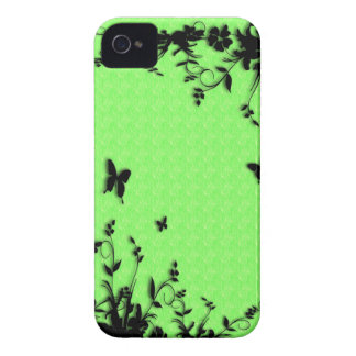 Lime Green Texture iPhone 4 Covers