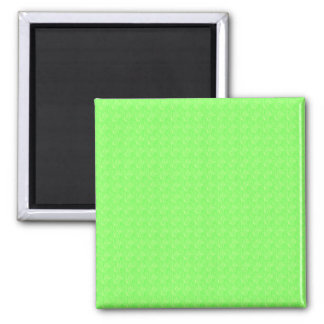Lime Green Texture Magnet