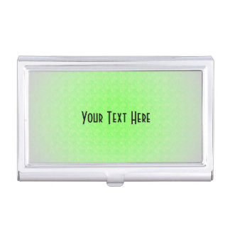 Lime green business card holders cases zazzle lime green texture personal name business card holder reheart Images