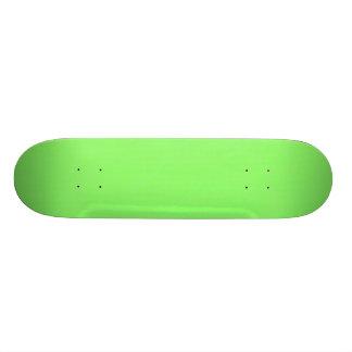 Lime Green Texture Skateboard Deck