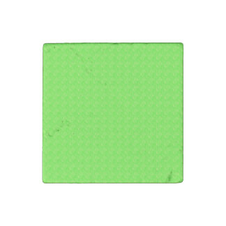 Lime Green Texture Stone Magnet
