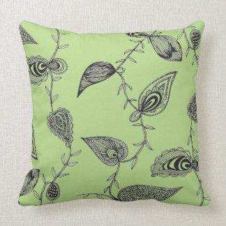 "lime green Throw pillow 20"" x 20"""