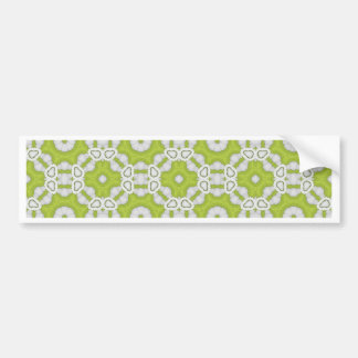 lime green tile bumper stickers