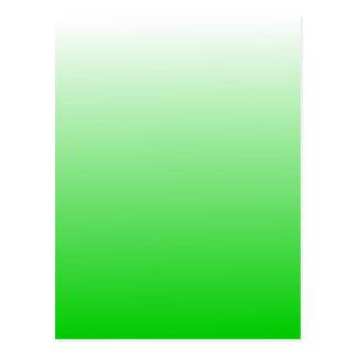 lime green to white gradient #00cc00 postcard
