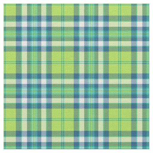 lime green turquoise and blue fashion plaid fabric. Black Bedroom Furniture Sets. Home Design Ideas