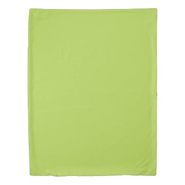 USA Themed Lime Green Twin Size Duvet Cover