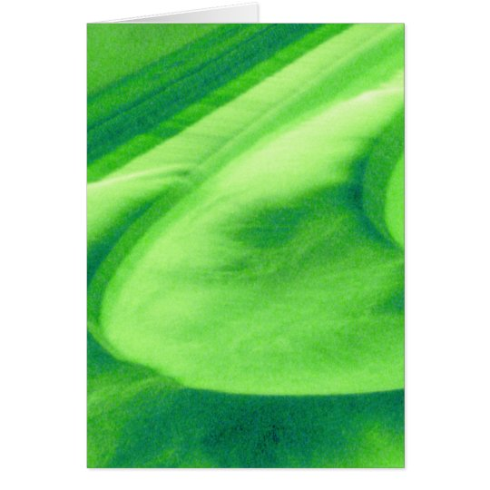 Lime Green Weir At Bath, UK Card