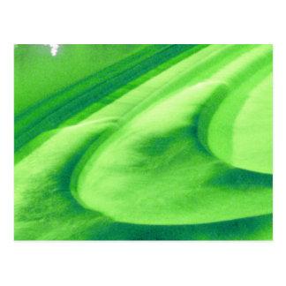 Lime Green Weir At Bath, UK Postcard