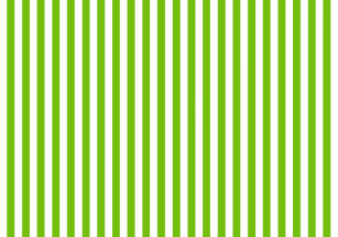 Lime Green White Stripe Cloth Placemat