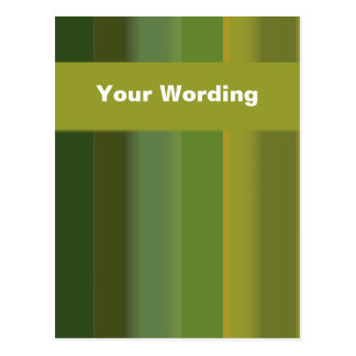 Lime Green Yellow delight - customizable Postcard