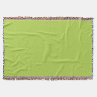 Lime Green Throw
