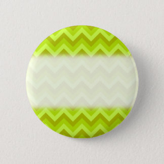Lime Green Zig Zag Pattern. Button