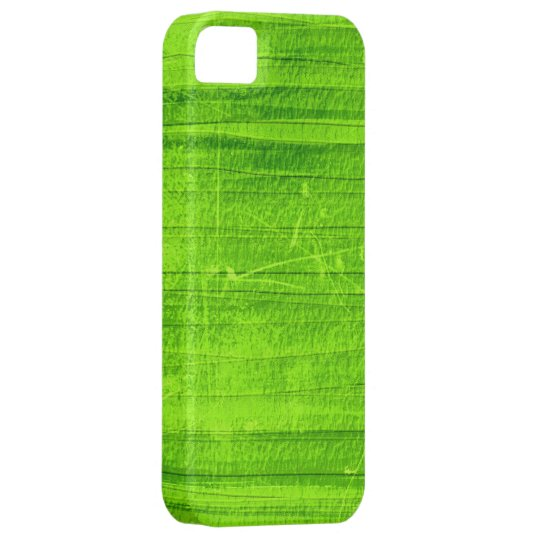 Lime grunge wall background graphic iPhone SE/5/5s case