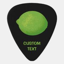 Lime Guitar Pick