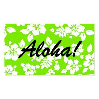 Lime Hawaiian Business Card