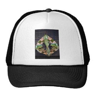 Lime Hawk Moths Trucker Hat