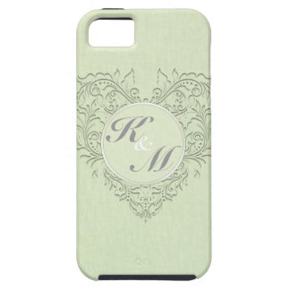Lime HeartyChic iPhone SE/5/5s Case