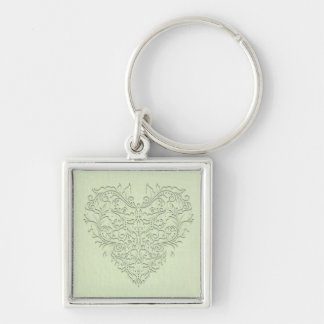 Lime HeartyChic Keychains