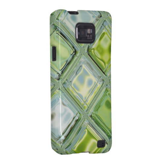 Lime Ice Glass Mosaic Samsung Galaxy SII Cover
