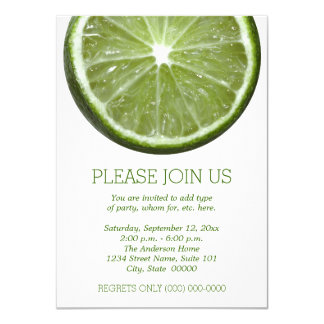 Lime Invitations