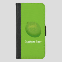 Lime iPhone 8/7 Wallet Case