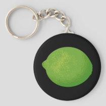 Lime Keychain