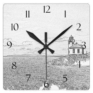 Lime Kiln Lighthouse Clock