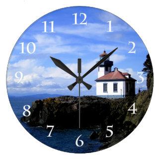 Lime Kiln Lighthouse Wall Clocks